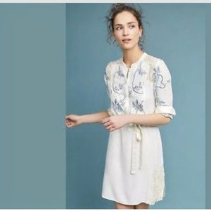Anthropolgie Amarante Shirtdress by Tiny